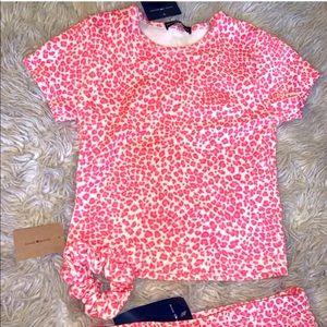 Brandy Melville pink cheetah ashlyn & scrunchie